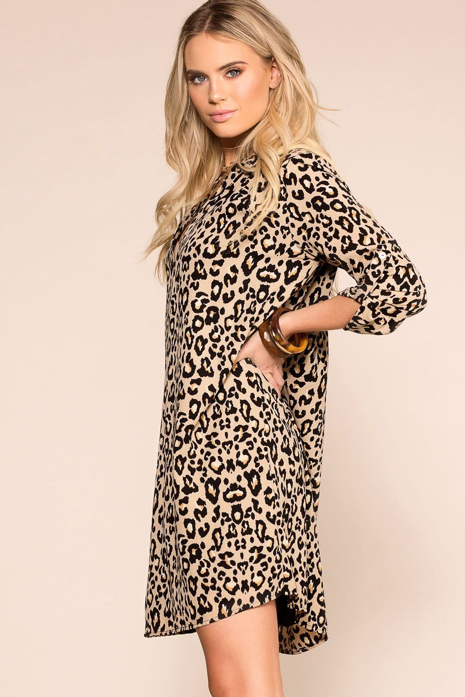 Priceless | Leopard | Swing Dress | Womens