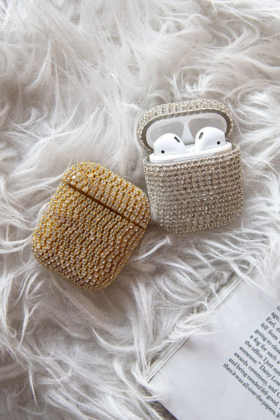 Silver AirPods Case Cover