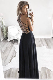 Fairytale Ending Maxi Dress - Black