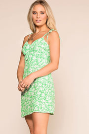Priceless | Green | Floral | Sun Dress | Womens