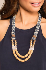 Priceless | Braided Necklace | Beaded Necklace | Accessories