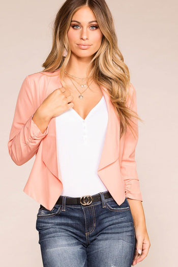 Priceless | Blush | Blazer | Womens