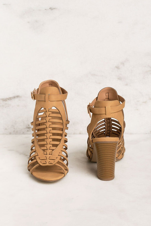 Priceless | Sandals | Heels | Tan | Womens