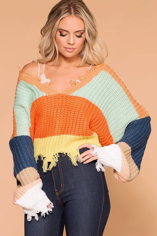 Twist And Shout Sweater - Kelly Green