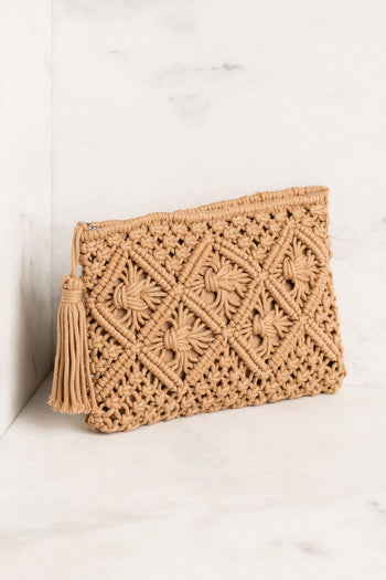 Priceless | Woven Clutch | Womens