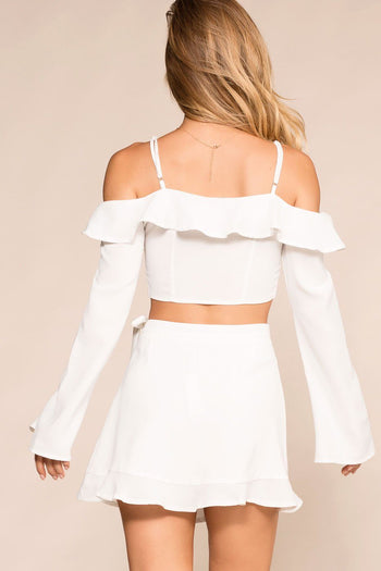 Shop Priceless | White | Wrap Skirt | Womens