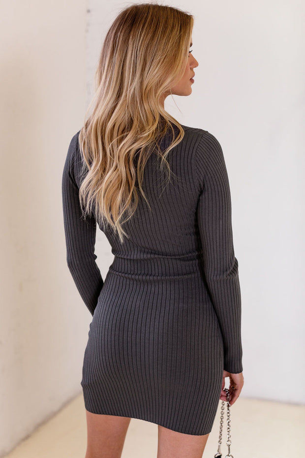 Just Ride Grey Dress