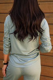 Sage Long Sleeve Top