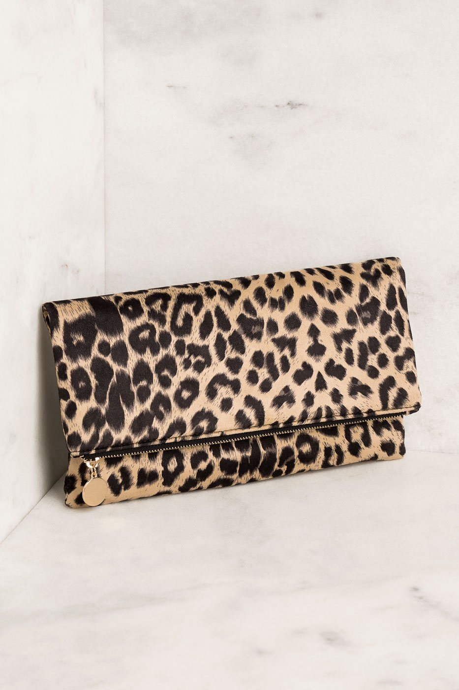 Priceless | Taupe | Leopard | Clutch Purse | Accessories | Womens