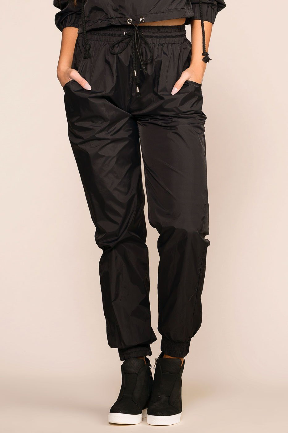 Priceless | Black | Track Pants | Womens