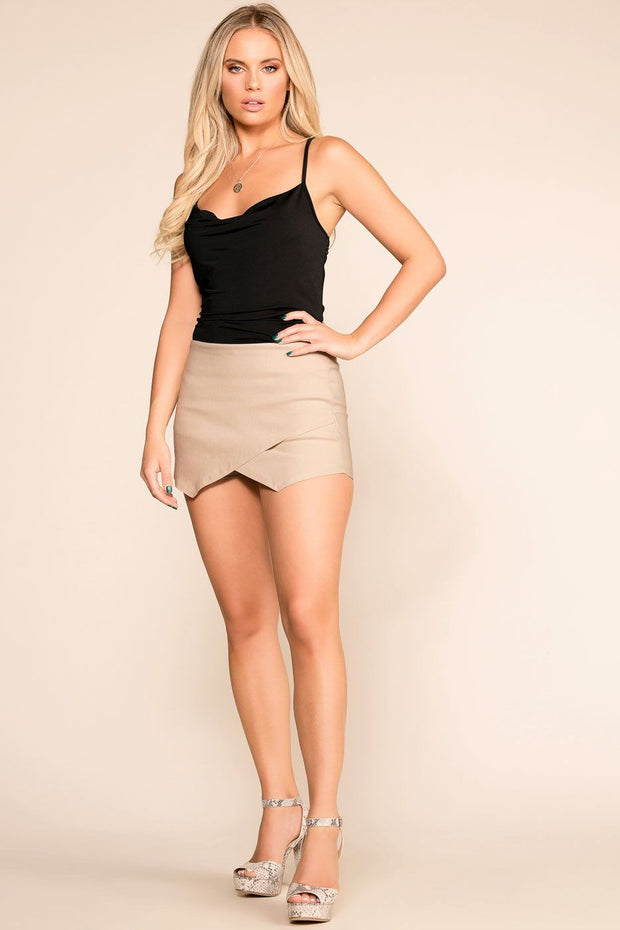 Shop Priceless | Taupe | Skort | Womens