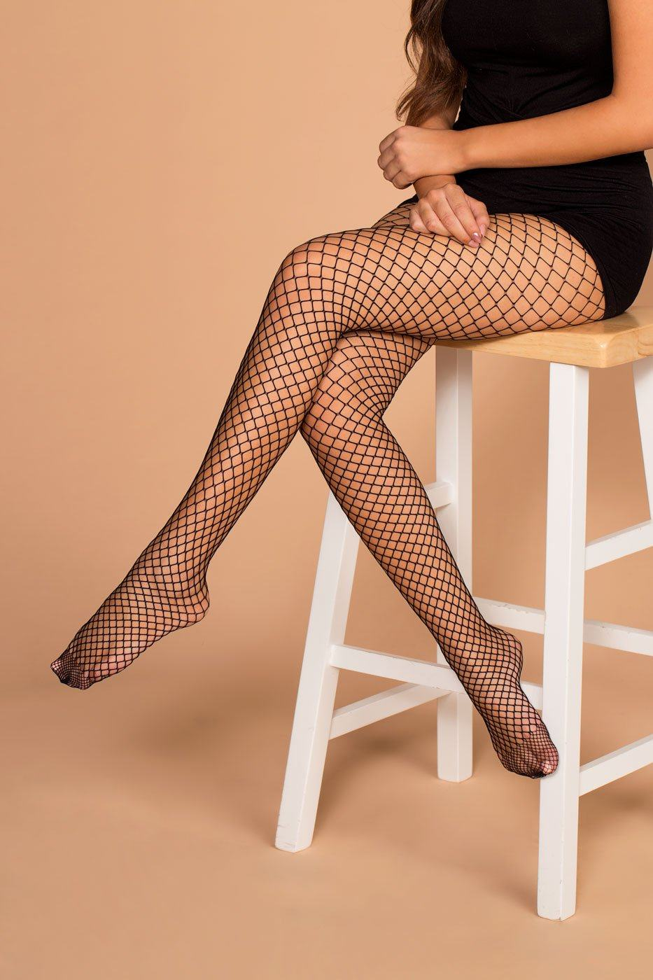 Kat Fishnet Tights
