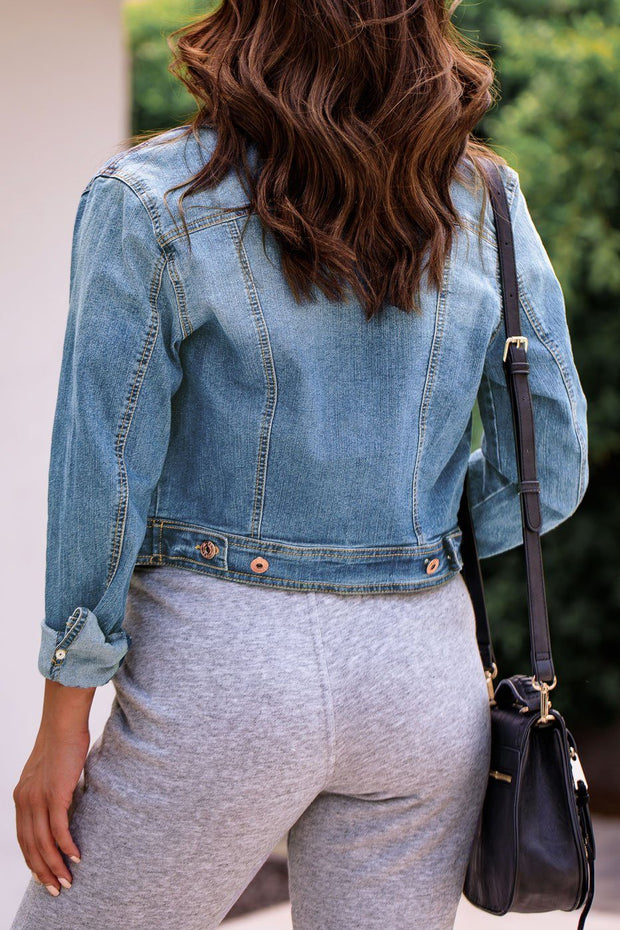 Look Alive Denim Jacket