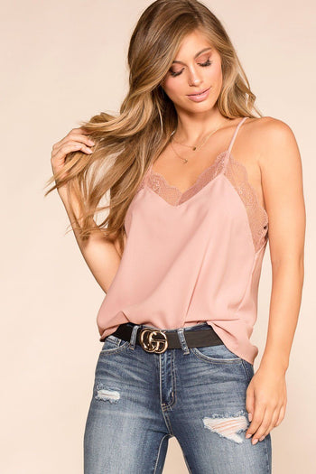 Shop Priceless | Rose | Lace Cami | Womens