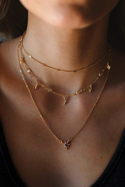 Lost Love Gold Layered Necklace