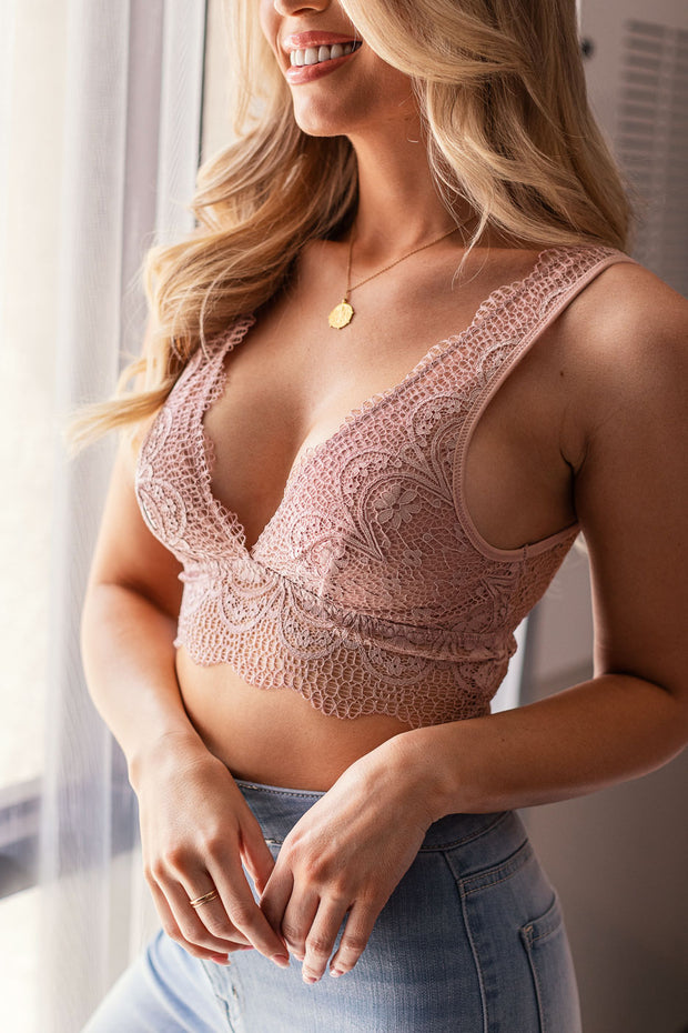 Rose Lace Bralette