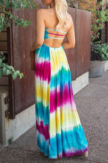 Lumi Tie-Dye Maxi Dress | Hers & Mine