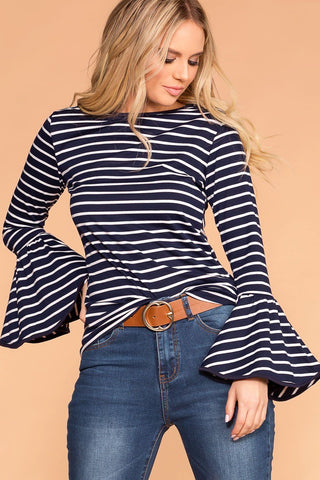 Coronado Striped Off The Shoulder Romper