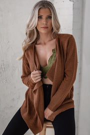 Rust Soft Cardigan