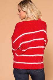 Shop Priceless | Red Stripe | Knit Sweater | Womens