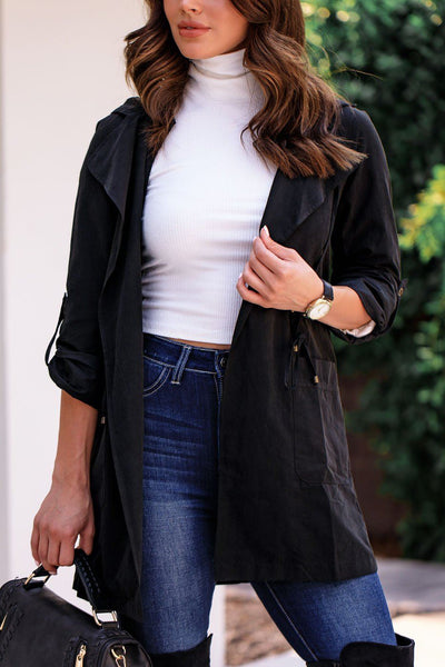 Black Lightweight Jacket