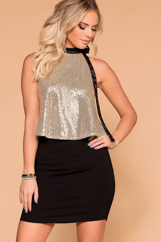 Chase The Lace Skirt - Black