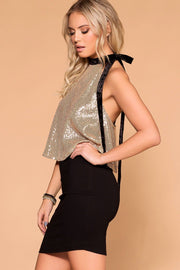 Shop Priceless | Glitter Bow Top | Womens
