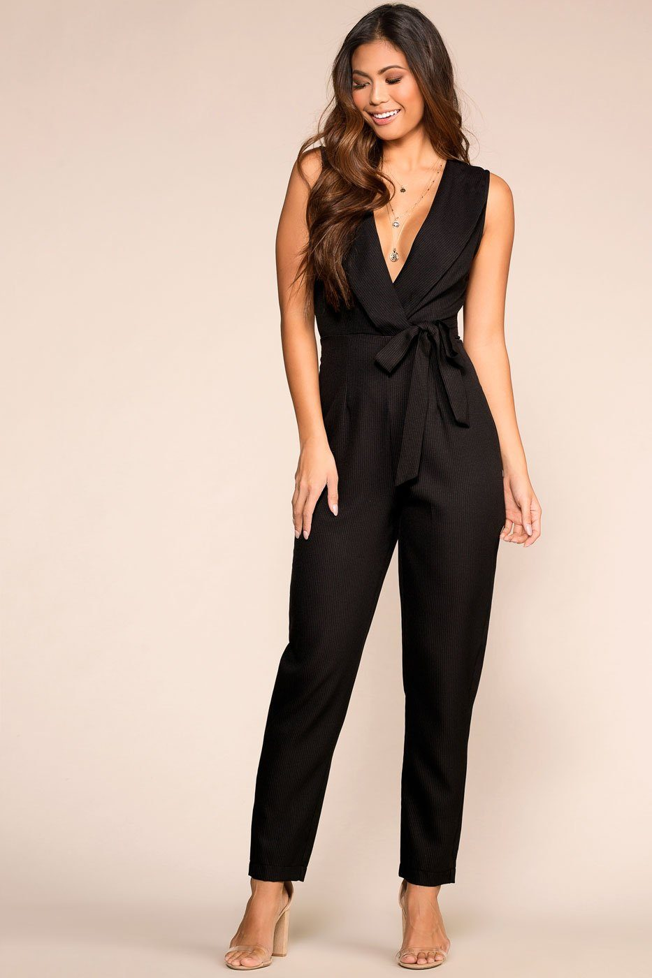 11cbe31a2dae ... Make It Work Black Jumpsuit