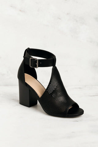 Kriss Wedge - Black