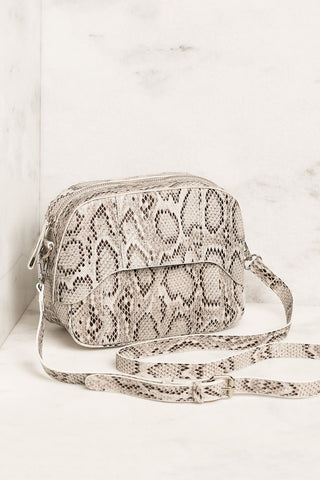 Call The Shots Black Chain Purse
