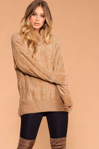 Mia Black Knit Sweater