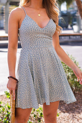 Love Like This Floral Mini Dress