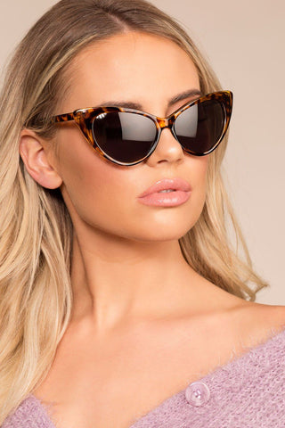 Audina Sunglasses - Gold/Black