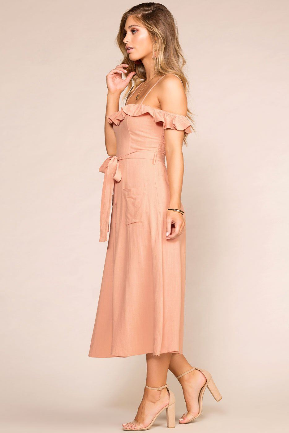 ab34e3093bd Monterey Peach Maxi Dress