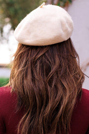 My Belle Ivory Beret