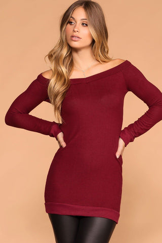 Misha Rust Buttoned Bodycon Dress