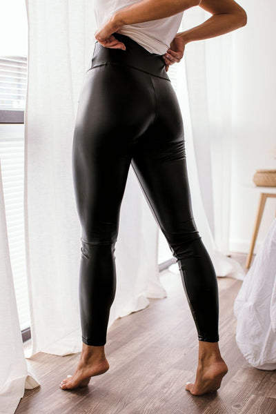 Pleather Leggings