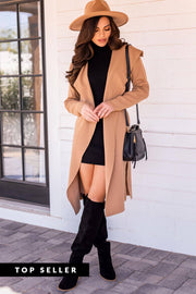 Odessa Camel Lightweight Trench Coat