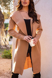 Camel Lightweight Trench Coat