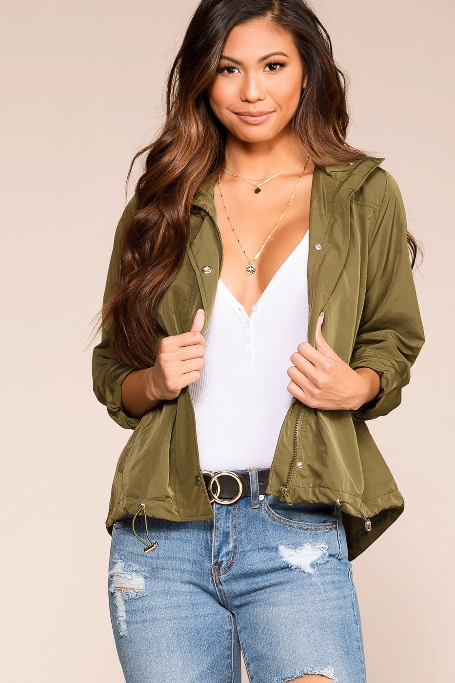44f646931a On The Horizon Olive Jacket
