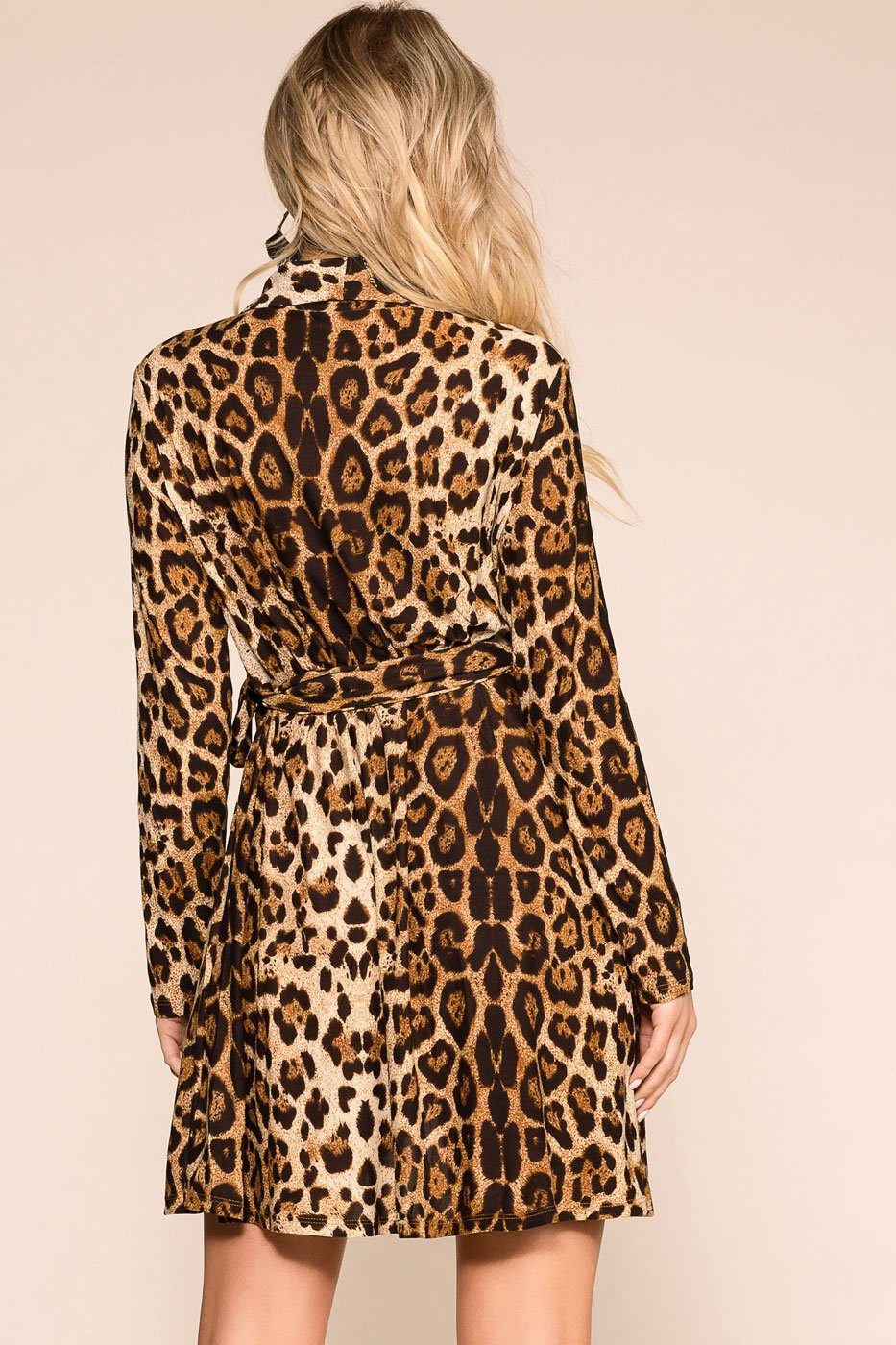 Priceless | Leopard | Wrap Dress | Womens