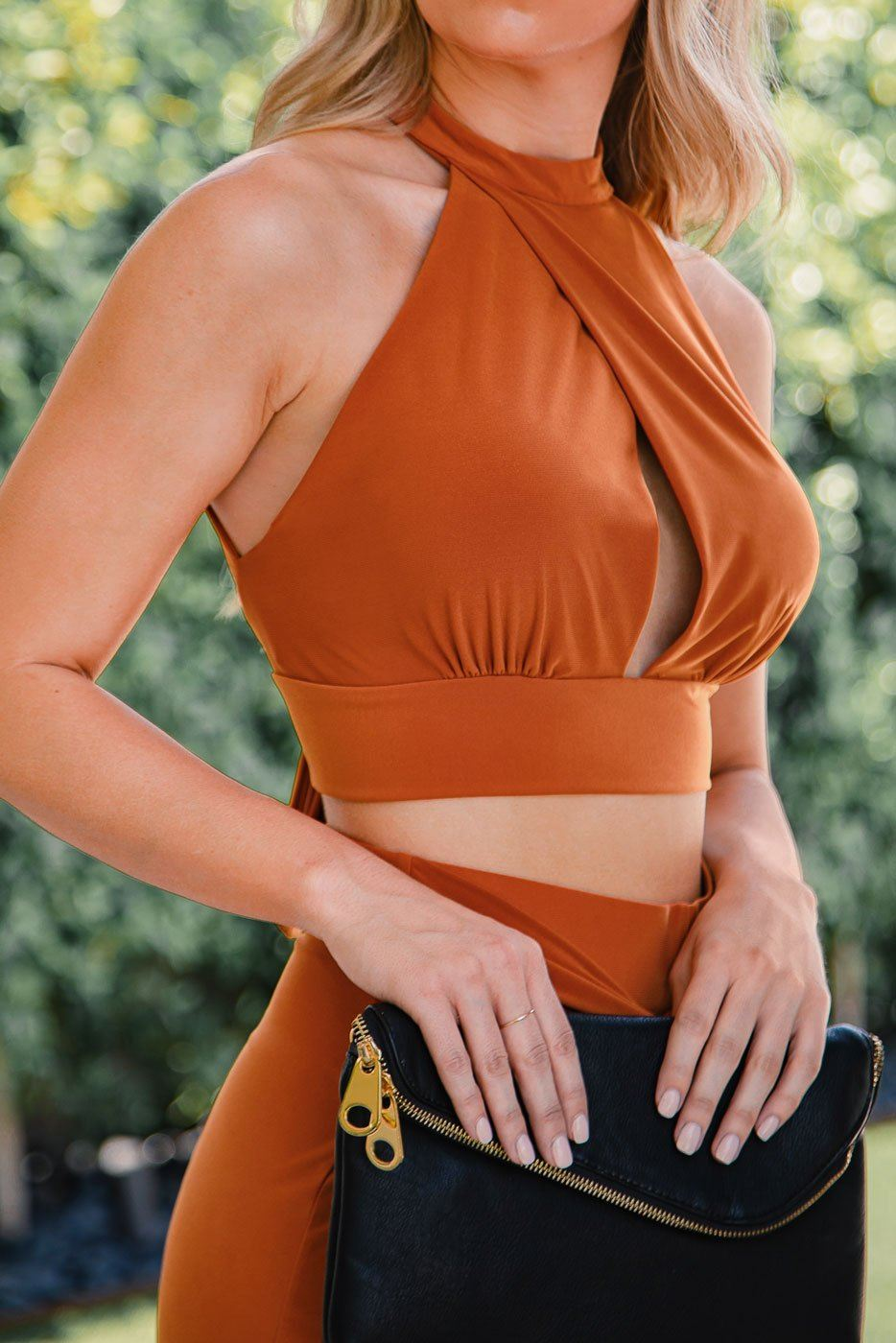 Rust Crop Top