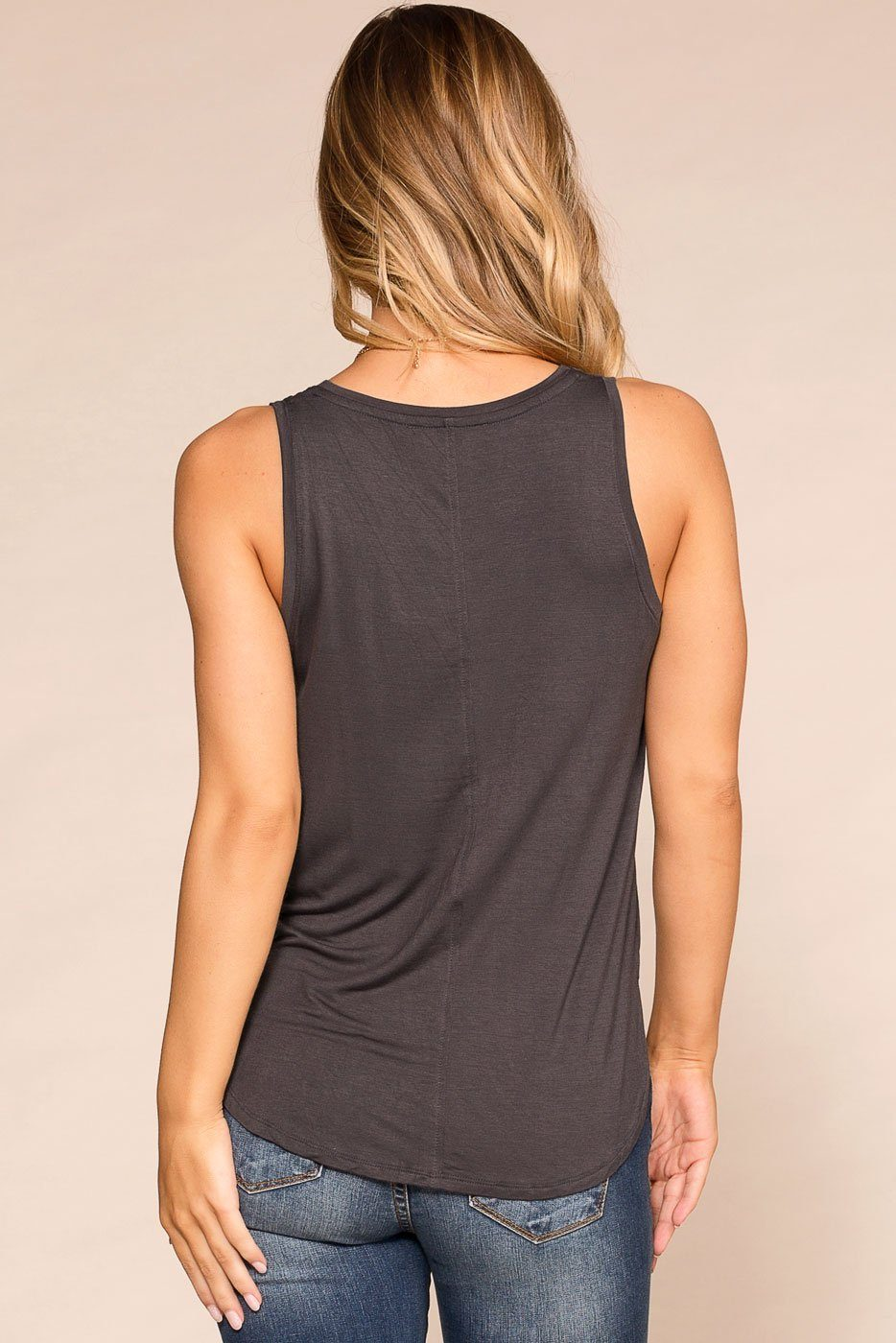 Priceless | Charcoal | Tank Top | Womens