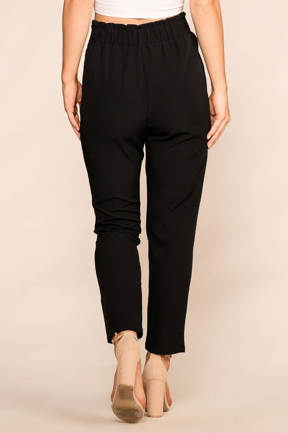 Black High Waisted Pants Shop Priceless | Black | High Waisted Pants | Womens