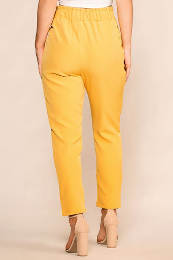 Shop Priceless | Mustard | High Waisted Pants | Womens