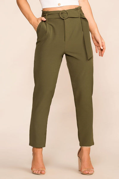 Shop Priceless | Olive | High Waisted Pants | Womens