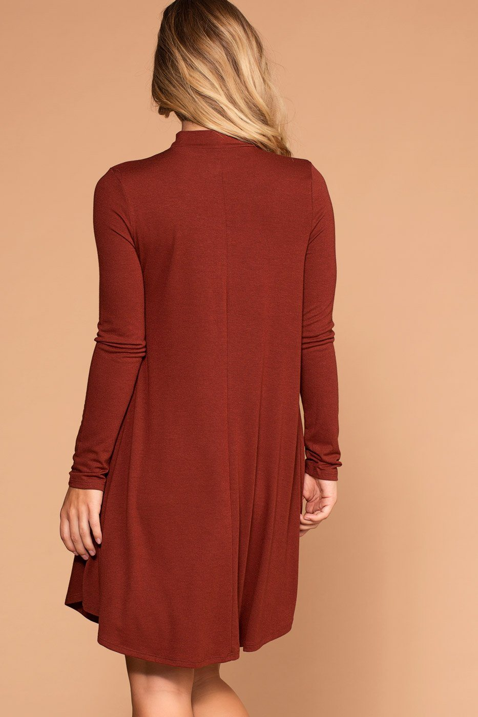 Randi Brick Swing Pocket Dress | Shop Priceless