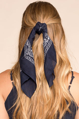 Rebel Heart Bandana - Black