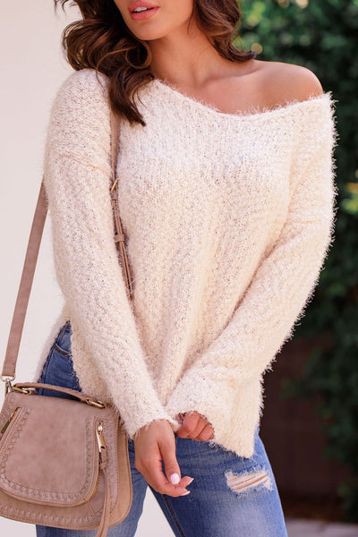 Robinson Ivory Knit Sweater