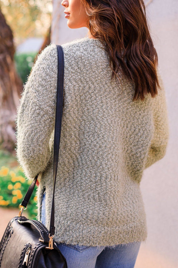 Sage Knit Sweater